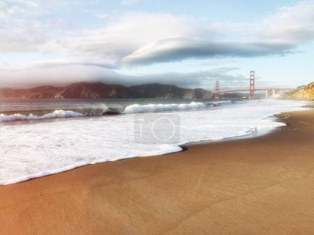 San Francisco Golden Gate Bridge in California USA
