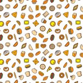 Bakery products Fast food Patty pattern color