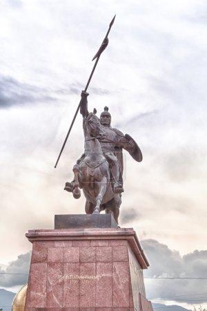 Monument Raiymbek Batyr. Almaty, Kazakhstan