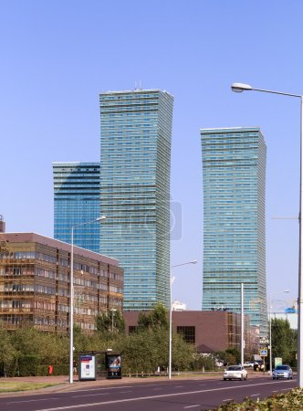 "Residential complex ""Northern Lights"". Skyscrapers. Astana, Kaza"