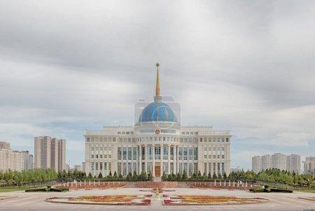 Astana, Kazakhstan - September 3, 2016: Presidential Palace Akor