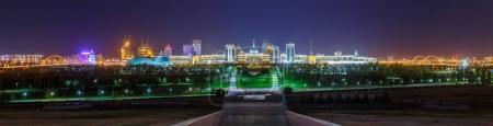 Photo for Night Panorama of Astana - Royalty Free Image