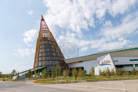 Astana, Kazakhstan - September 6, 2016: Alau - Ice Palace