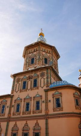 Russia, Kazan - August 19, 2017: The Cathedral of SS. Peter & Pa