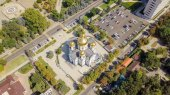 The military Cathedral of the Holy Prince Alexander Nevsky. City of Krasnodar, Russia
