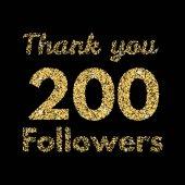 Thank you 200 followers banner