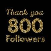 Thank you 800 followers banner