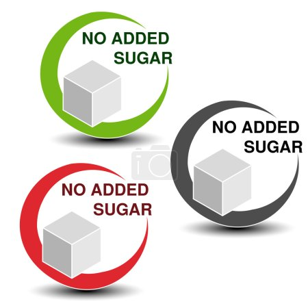 no added sugar symbols