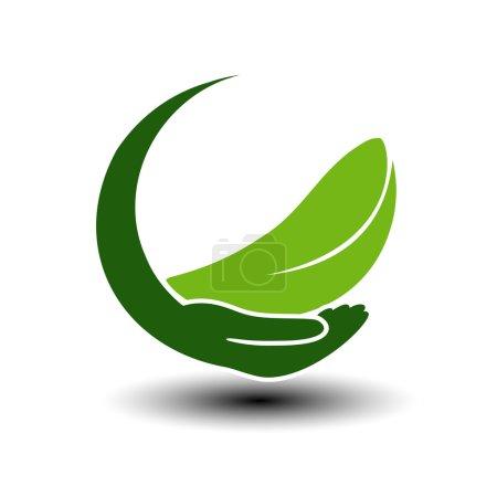 symbole de l'énergie verte