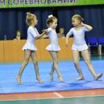 Orenburg, Russia, 26-27 May 2017 years: girl compe...