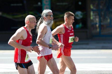 Men athletes from Switzerland, running marathon