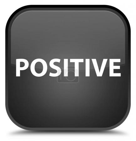 Positive special black square button