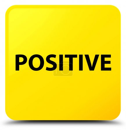 Positive yellow square button