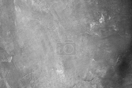 Photo pour Texture de ciment. gros plan black mur peint et sale - image libre de droit