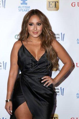 singer Adrienne Bailon