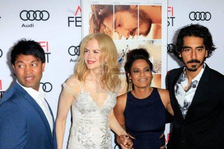 Saroo Brierley, Nicole Kidman, Priyanka Bose, Dev Patel