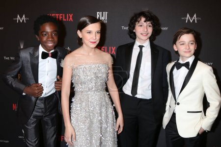 Caleb McLaughlin Millie Bobby Brown
