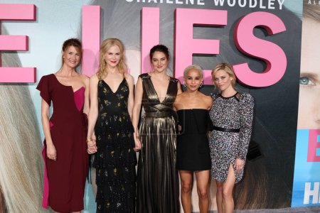 Laura Dern, Nicole Kidman, Shailene Woodley, Zoe Kravitz, Reese Witherspoon