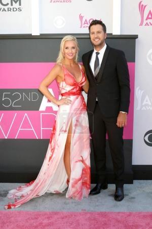 Luke Bryan and Caroline Boyer