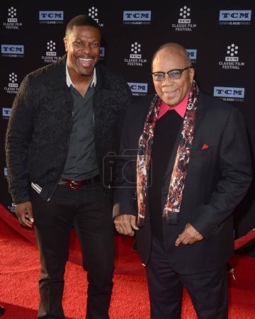 Chris Tucker and Quincy Jones