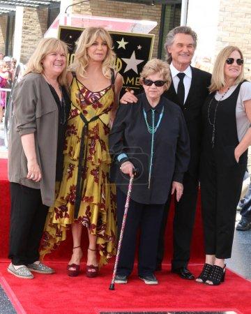 Goldie Hawn Kurt Russell Kurts