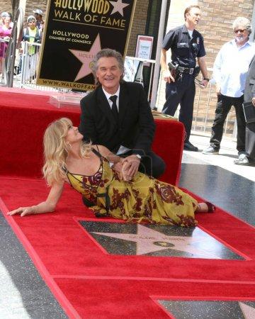 Kurt Russell Goldie Hawn