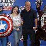 Постер, плакат: Captain America Stella Gregg Clark Gregg Star Lord