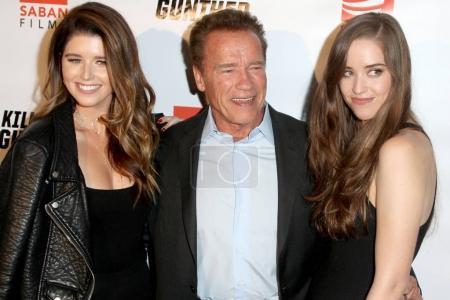 Katherine Schwarzenegger Arnold Schwarzenegger Christina
