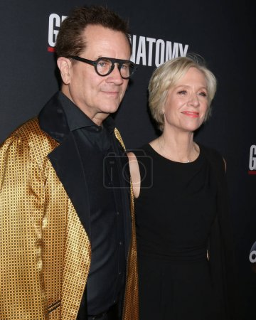 Producer Betsy Beers with husband