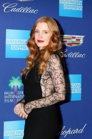 PALM SPRINGS - JAN 2:  Jessica Chastain at the 201...