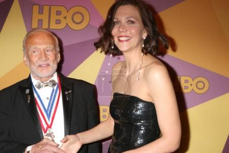 Buzz Aldrin, Maggie Gyllenhaal