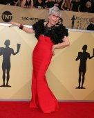 LOS ANGELES - JAN 21:  Rita Moreno at the 24th Screen Actors Guild Awards - Press Room at Shrine Auditorium on January 21, 2018 in Los Angeles, CA