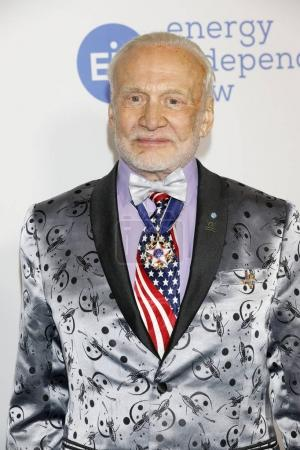 actor Buzz Aldrin