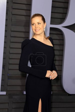 Photo pour LOS ANGELES - MAR 4 : Amy Adams au 24e Vanity Fair Oscar After-Party au Wallis Annenberg Center for the Performing Arts le 4 mars 2018 à Beverly Hills, CA - image libre de droit