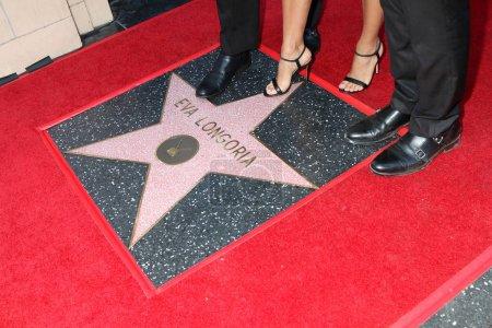 Eva Longoria Baston Star Ceremony
