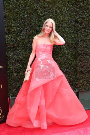 LOS ANGELES - APR 29:  Lauralee Bell at the 45th Daytime Emmy Awards at the Pasadena Civic Auditorium on April 29, 2018 in Pasadena, CA