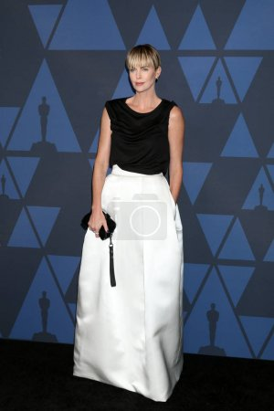 Photo for LOS ANGELES - OCT 27:  Charlize Theron at the 11th Annual Governors Awards at the Dolby Theater on October 27, 2019 in Los Angeles, CA - Royalty Free Image