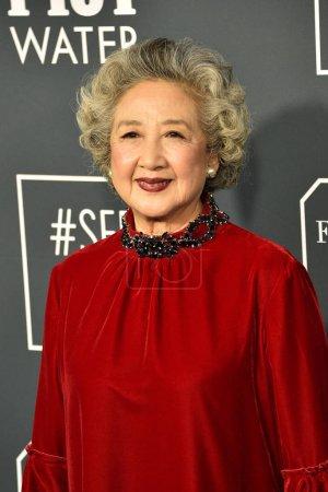 Photo for LOS ANGELES - JAN 12:  Zhao Shuzhen at the Critics Choice Awards 2020 at the Barker Hanger on January 12, 2020 in Santa Monica, CA - Royalty Free Image