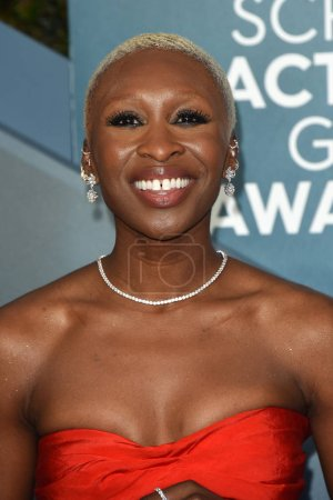 Photo for LOS ANGELES - JAN 19:  Cynthia Erivo at the 26th Screen Actors Guild Awards at the Shrine Auditorium on January 19, 2020 in Los Angeles, CA - Royalty Free Image