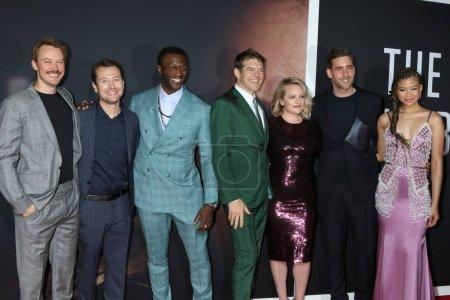 LOS ANGELES - FEB 24:  Michael Dorman, Leigh Whann...