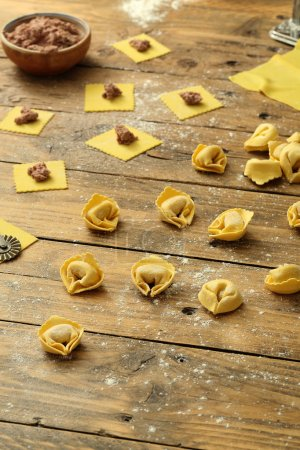 Fresh Tortellini with meat