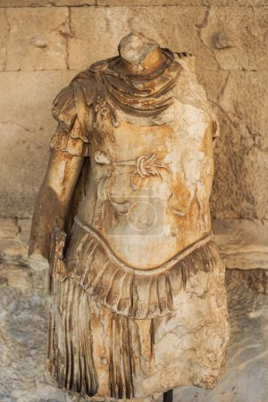 Statue of the personification of Odyssey in stoa o...