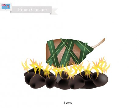 Lovo Traditional Fijian Meat Cooked