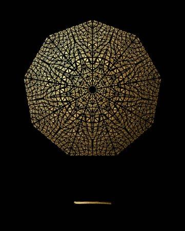 Photo pour Illustration vectorielle de l'art noir et or - image libre de droit