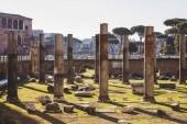 """Постер, картина, фотообои """"прекрасный Римский форум руины, Рим, Италия"""""""