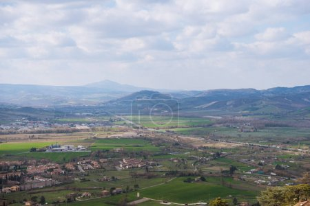 Photo for Beautiful landscape in Orvieto, Rome suburb, Italy - Royalty Free Image
