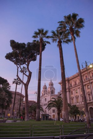 Photo for Facade of Court of cassation at Rome, Italy - Royalty Free Image