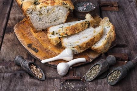 Homemade delicious bread