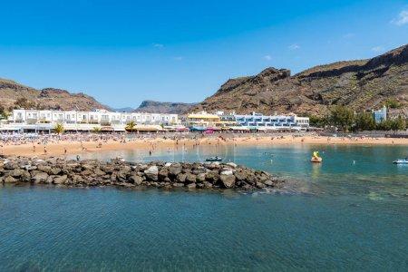 Beach at Puerto Mogan - Playa Mogan