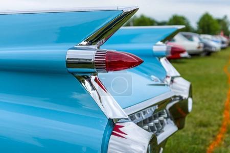 Rear stoplights of a fullsize
